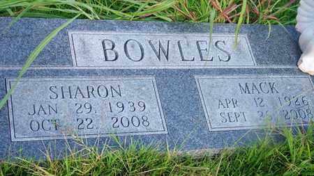 BOWLES, MACK - Delaware County, Oklahoma | MACK BOWLES - Oklahoma Gravestone Photos