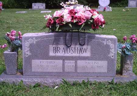 BRADSHAW, RICHARD - Delaware County, Oklahoma   RICHARD BRADSHAW - Oklahoma Gravestone Photos