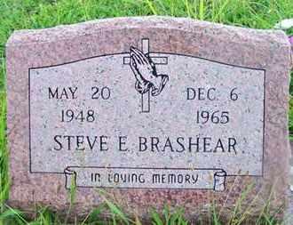 BRASHEAR, STEVE E - Delaware County, Oklahoma | STEVE E BRASHEAR - Oklahoma Gravestone Photos