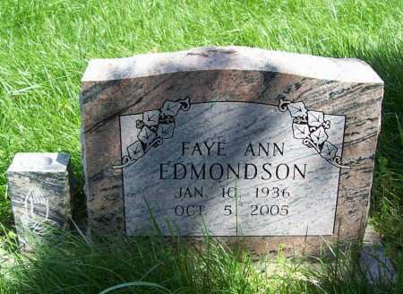 EDMONDSON BRYAN, FAYE ANN - Delaware County, Oklahoma | FAYE ANN EDMONDSON BRYAN - Oklahoma Gravestone Photos