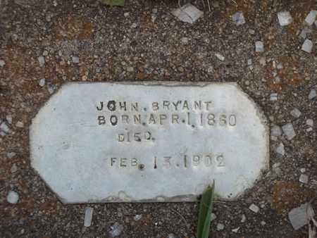 BRYANT, JOHN - Delaware County, Oklahoma | JOHN BRYANT - Oklahoma Gravestone Photos