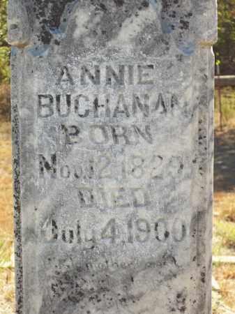 BUCHANAN (CLOSEUP), ANNIE - Delaware County, Oklahoma | ANNIE BUCHANAN (CLOSEUP) - Oklahoma Gravestone Photos
