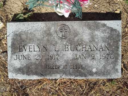 BUCHANAN, EVELYN L - Delaware County, Oklahoma | EVELYN L BUCHANAN - Oklahoma Gravestone Photos