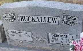 BUCKALLEW, DEBORAH D - Delaware County, Oklahoma | DEBORAH D BUCKALLEW - Oklahoma Gravestone Photos