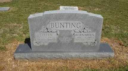 BUNTING, EVELYN - Delaware County, Oklahoma   EVELYN BUNTING - Oklahoma Gravestone Photos
