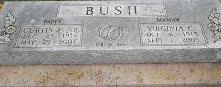 BUSH, VIRGINIA C - Delaware County, Oklahoma | VIRGINIA C BUSH - Oklahoma Gravestone Photos