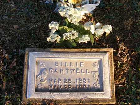 CANTWELL, BILLIE - Delaware County, Oklahoma | BILLIE CANTWELL - Oklahoma Gravestone Photos