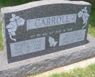 CARROLL, JAMES THAD - Delaware County, Oklahoma | JAMES THAD CARROLL - Oklahoma Gravestone Photos