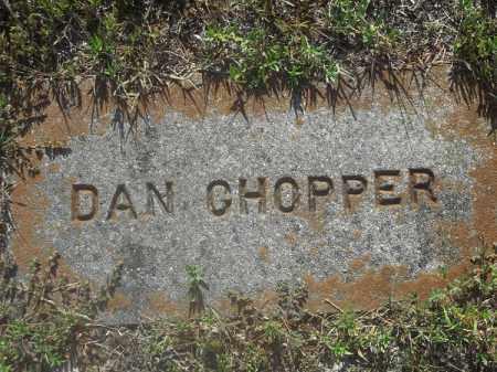 CHOPPER, DAN - Delaware County, Oklahoma | DAN CHOPPER - Oklahoma Gravestone Photos