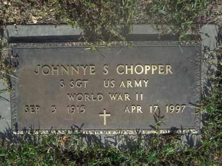 CHOPPER (VETERAN WWII), JOHNNYE S - Delaware County, Oklahoma | JOHNNYE S CHOPPER (VETERAN WWII) - Oklahoma Gravestone Photos