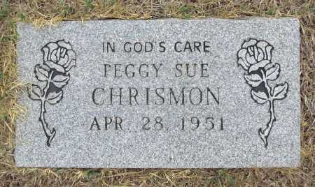 CHRISMON, PEGGY SUE - Delaware County, Oklahoma | PEGGY SUE CHRISMON - Oklahoma Gravestone Photos