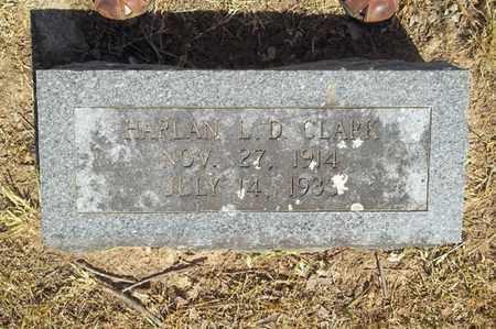 CLARK, HARLAN L D - Delaware County, Oklahoma   HARLAN L D CLARK - Oklahoma Gravestone Photos