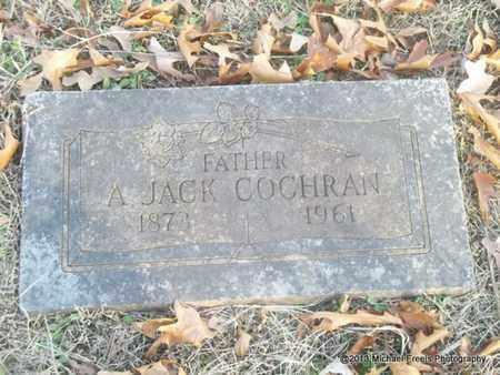 COCHRAN, A. JACK - Delaware County, Oklahoma | A. JACK COCHRAN - Oklahoma Gravestone Photos