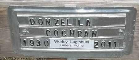 COCHRAN, DONZELLA - Delaware County, Oklahoma | DONZELLA COCHRAN - Oklahoma Gravestone Photos