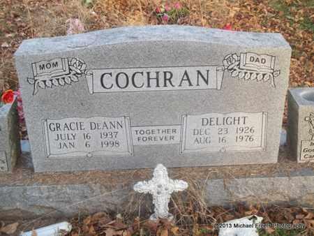 COCHRAN, DELIGHT - Delaware County, Oklahoma | DELIGHT COCHRAN - Oklahoma Gravestone Photos