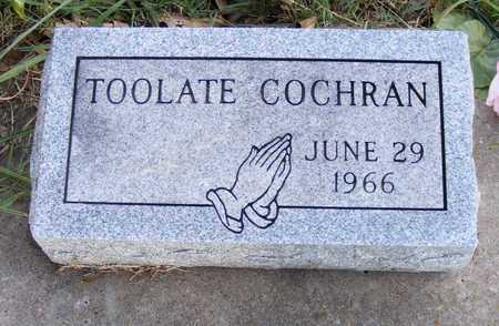 COCHRAN, TOOLATE - Delaware County, Oklahoma | TOOLATE COCHRAN - Oklahoma Gravestone Photos