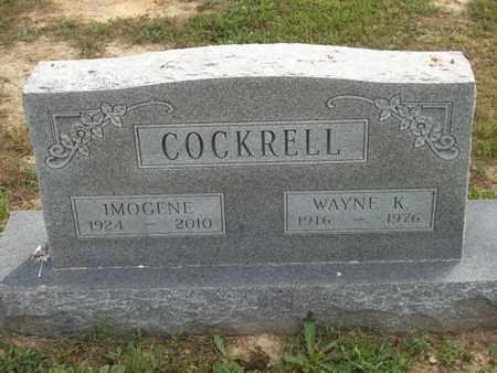 COCKRELL, WAYNE K. - Delaware County, Oklahoma   WAYNE K. COCKRELL - Oklahoma Gravestone Photos