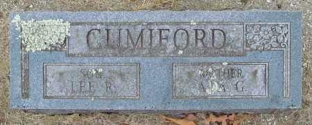 CUMIFORD, LEE R - Delaware County, Oklahoma | LEE R CUMIFORD - Oklahoma Gravestone Photos
