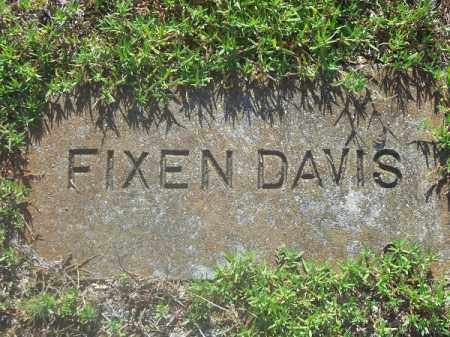 DAVIS, FIXEN - Delaware County, Oklahoma   FIXEN DAVIS - Oklahoma Gravestone Photos