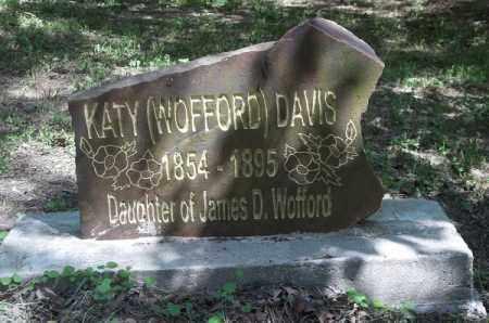 DAVIS, KATY - Delaware County, Oklahoma | KATY DAVIS - Oklahoma Gravestone Photos
