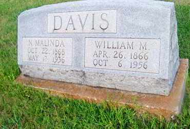 DAVIS, WILLIAM M - Delaware County, Oklahoma | WILLIAM M DAVIS - Oklahoma Gravestone Photos