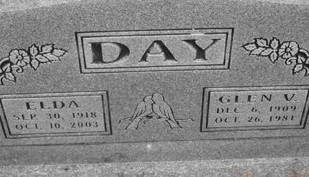 DAY, GLEN V - Delaware County, Oklahoma | GLEN V DAY - Oklahoma Gravestone Photos