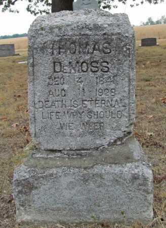 DEMOSS, THOMAS - Delaware County, Oklahoma | THOMAS DEMOSS - Oklahoma Gravestone Photos