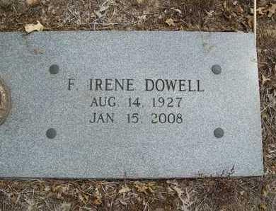 DOWELL, F. IRENE - Delaware County, Oklahoma | F. IRENE DOWELL - Oklahoma Gravestone Photos