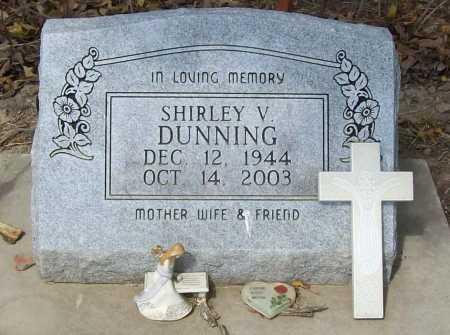 DUNNING, SHIRLEY V. - Delaware County, Oklahoma | SHIRLEY V. DUNNING - Oklahoma Gravestone Photos