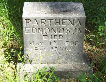EDMONDSON, PARTHENA - Delaware County, Oklahoma | PARTHENA EDMONDSON - Oklahoma Gravestone Photos