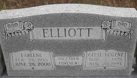 ELLIOTT, CECIL EUGENE - Delaware County, Oklahoma | CECIL EUGENE ELLIOTT - Oklahoma Gravestone Photos