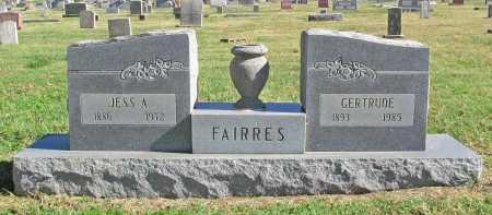 FAIRRES, JESS A - Delaware County, Oklahoma | JESS A FAIRRES - Oklahoma Gravestone Photos