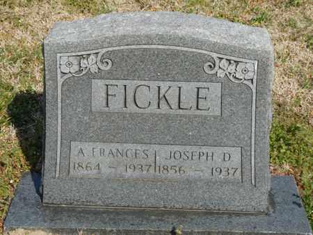 FICKLE, A. FRANCES - Delaware County, Oklahoma | A. FRANCES FICKLE - Oklahoma Gravestone Photos