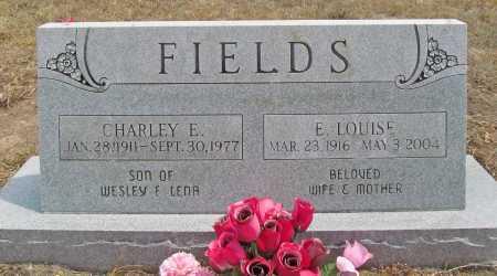 FIELDS, CHARLEY E - Delaware County, Oklahoma   CHARLEY E FIELDS - Oklahoma Gravestone Photos