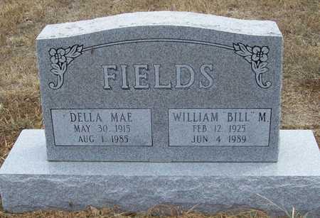 "FIELDS, WILLIAM M. ""BILL"" - Delaware County, Oklahoma | WILLIAM M. ""BILL"" FIELDS - Oklahoma Gravestone Photos"