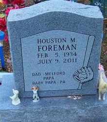 FOREMAN, HOUSTON M - Delaware County, Oklahoma | HOUSTON M FOREMAN - Oklahoma Gravestone Photos
