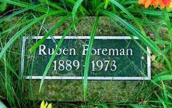 FOREMAN, RUBEN - Delaware County, Oklahoma   RUBEN FOREMAN - Oklahoma Gravestone Photos