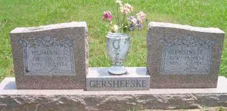 GERSHEFSKE, JENSINE E - Delaware County, Oklahoma | JENSINE E GERSHEFSKE - Oklahoma Gravestone Photos