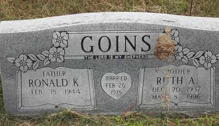 GOINS, RUTH A - Delaware County, Oklahoma | RUTH A GOINS - Oklahoma Gravestone Photos