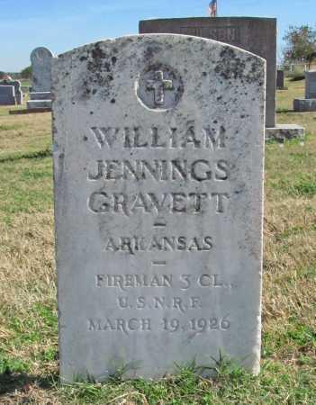 GRAVETT (VETERAN), WILLIAM JENNINGS - Delaware County, Oklahoma   WILLIAM JENNINGS GRAVETT (VETERAN) - Oklahoma Gravestone Photos