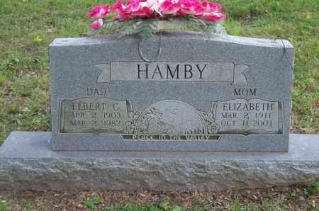 HAMBY, ELBERT C - Delaware County, Oklahoma | ELBERT C HAMBY - Oklahoma Gravestone Photos