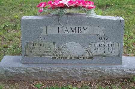 HAMBY, ELIZABETH - Delaware County, Oklahoma | ELIZABETH HAMBY - Oklahoma Gravestone Photos