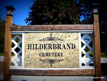 *HILDERBRAND CEMETERY SIGN, . - Delaware County, Oklahoma | . *HILDERBRAND CEMETERY SIGN - Oklahoma Gravestone Photos