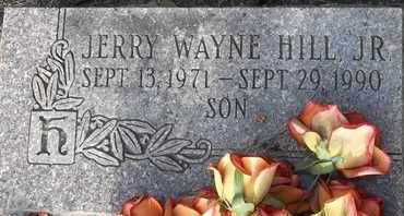 HILL, JR, JERRY WAYNE - Delaware County, Oklahoma | JERRY WAYNE HILL, JR - Oklahoma Gravestone Photos