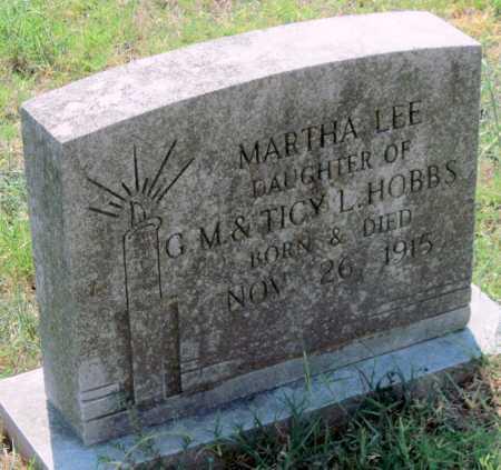 HOBBS, MARTHA LEE - Delaware County, Oklahoma | MARTHA LEE HOBBS - Oklahoma Gravestone Photos
