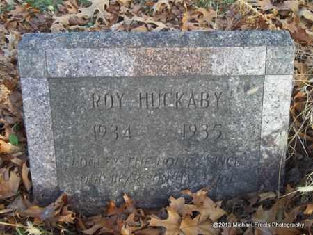 HUCKABY, ROY - Delaware County, Oklahoma | ROY HUCKABY - Oklahoma Gravestone Photos