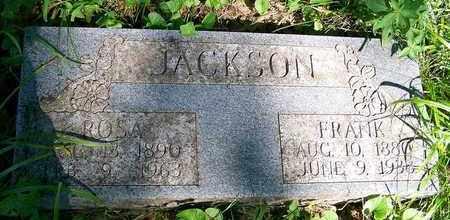JACKSON, FRANK - Delaware County, Oklahoma   FRANK JACKSON - Oklahoma Gravestone Photos
