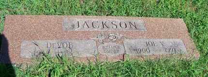 JACKSON, JOE V - Delaware County, Oklahoma | JOE V JACKSON - Oklahoma Gravestone Photos