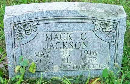 JACKSON, MACK C - Delaware County, Oklahoma   MACK C JACKSON - Oklahoma Gravestone Photos