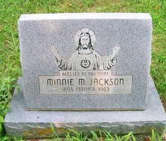 JACKSON, MINNIE M - Delaware County, Oklahoma   MINNIE M JACKSON - Oklahoma Gravestone Photos